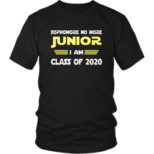 Load image into Gallery viewer, Junior I Am - Class of 2020 Slogans - Black