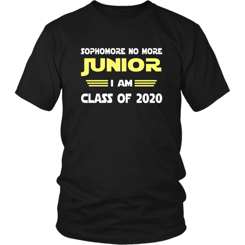 Junior I Am - Class of 2020 Slogans - Black