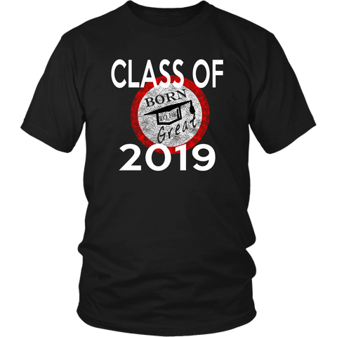 Born To Be Great - Senior Class of 2019 Shirts - Black