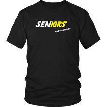 Load image into Gallery viewer, Seniors Eat Freshman - Class of 2019 T shirt Slogans - Black