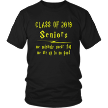 Load image into Gallery viewer, We Solemnly Swear - Class of 2019 T shirts - Black