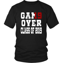 Load image into Gallery viewer, Game Over - Graduation Shirts - Black