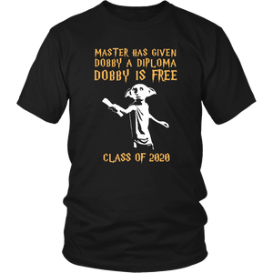 Master Has Given Dobby A Diploma - Class Of 20 Shirts