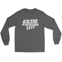 Load image into Gallery viewer, We Will Be Heard - Senior Class Sweatshirts 2020