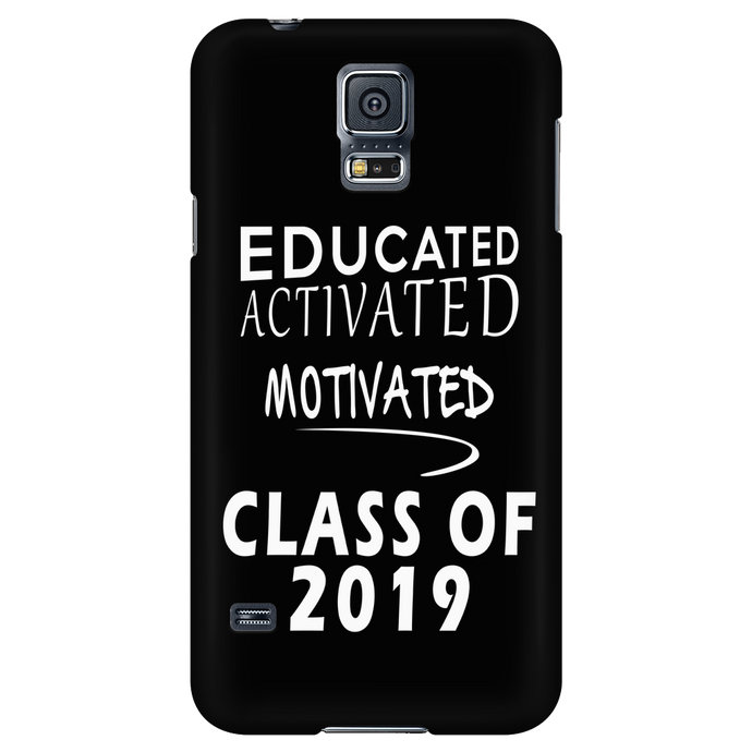 Educated Activated Motivated - Senior Phone Case