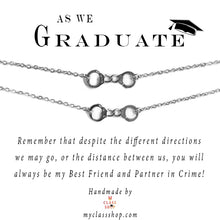 Load image into Gallery viewer, As We Graduate - Graduation bracelets - Silver