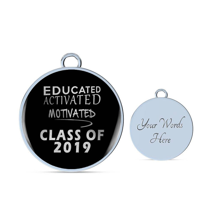 Educated Activated Motivated - 2019 Graduation Bracelets