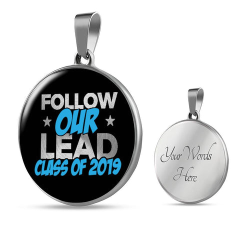 Follow Our Lead - Graduation Necklace