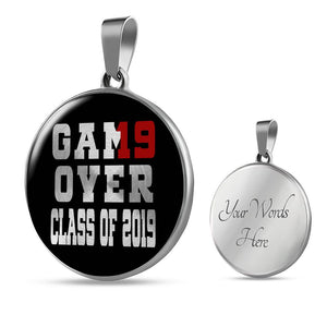 Game Over - Personalized Graduation Necklaces