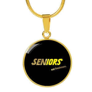 Seniors Eat Freshman - Graduation Necklace 2019