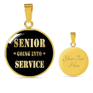 Senior Going Into Service - Graduation Necklaces For Her