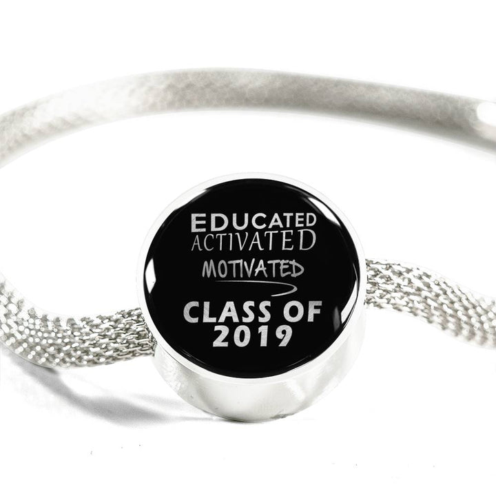 Educated Activated Motivated - Personalized Pandora Graduation Charms