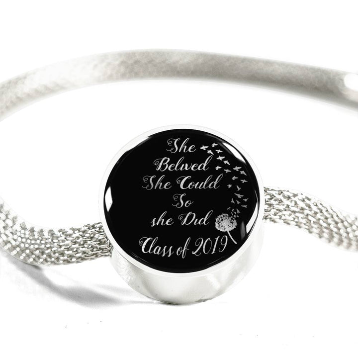 c0b3dad1505 She Believed Class Of 2019 - Pandora Charm For Graduation