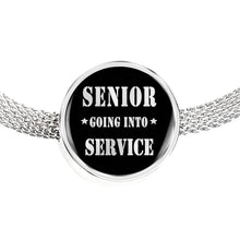 Load image into Gallery viewer, Senior Going Into Service - Graduation Charm For Pandora Bracelet