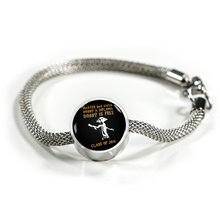 Load image into Gallery viewer, Dobby Is Free Class of 2018 - Pandora Graduation Charm Bracelet
