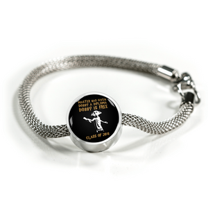 Dobby Is Free Class of 2018 - Pandora Graduation Charm Bracelet