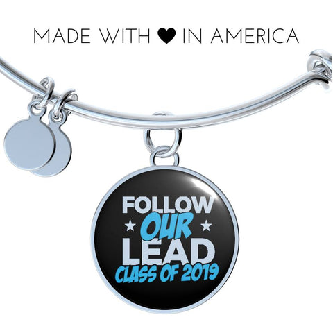 Follow Our Lead - 2019 Personalized Graduation Bracelet