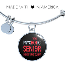 Load image into Gallery viewer, I'm The Psychotic Sen19r - Graduation Bracelet 2019