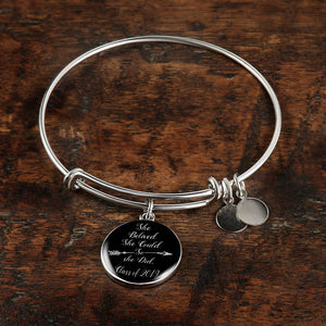 She Believed She Could So She Did - Personalized Graduation Bracelets