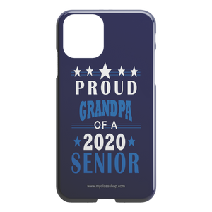 Proud Grandpa of a 2020 Senior - Blue Edition