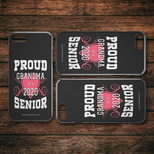 Proud Grandma of a 2020 Senior - Black Edition