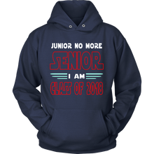 Load image into Gallery viewer, Junior No More - Hoodie slogans