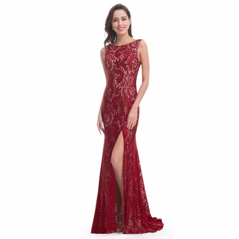 Burgundy Prom Dresses 2019 My Class Shop