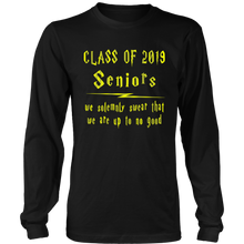 Load image into Gallery viewer, We Solemnly Swear - Senior 2019 Shirt - Black