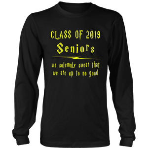 We Solemnly Swear - Senior 2019 Shirt - Black