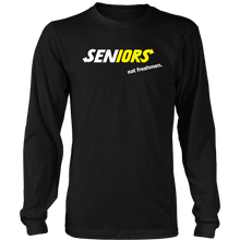 Load image into Gallery viewer, Seniors Eat Freshman - Class of 2019 Shirts Slogans - Black