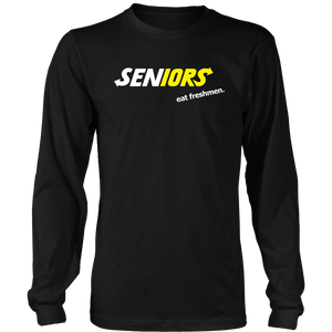 Seniors Eat Freshman - Class of 2019 Shirts Slogans - Black