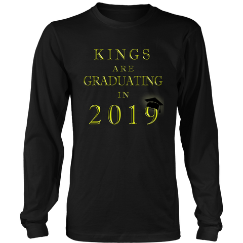 Kings Are Graduating In 2019 - Class of 2019 Class Shirts - Black