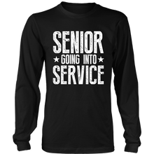 Load image into Gallery viewer, Senior Going Into Service - Senior 2019 Shirts - Black