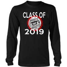 Load image into Gallery viewer, Born To Be Great - Class of 2019 Senior Shirts - Black