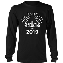 Load image into Gallery viewer, This Guy Is Graduating - Class of 2019 Long Sleeve T-Shirts