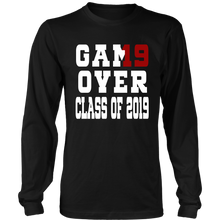 Load image into Gallery viewer, Game Over - Graduation T-shirts - Black