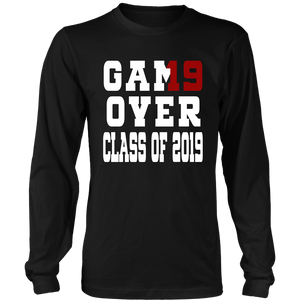 Game Over - Graduation T-shirts - Black
