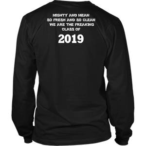 Mighty and Mean - Class of 19 Shirts - Black