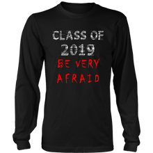 Load image into Gallery viewer, Class of 2019 t-shirts with slogans - black