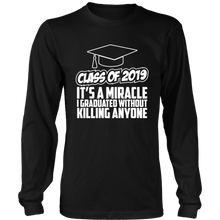 Load image into Gallery viewer, It's A Miracle - Senior Class Of 2019 Shirts - Black