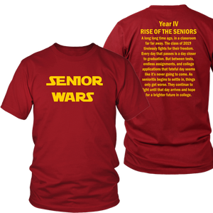 Senior Wars - Class of 2019 T-shirts