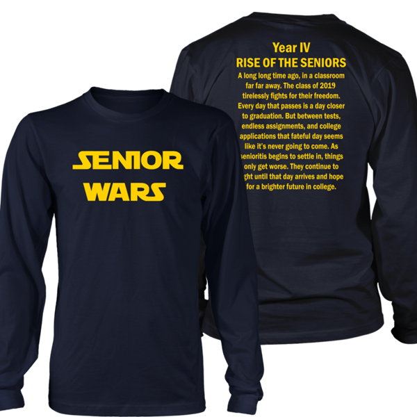Senior Wars - Class of 2019 T-shirt