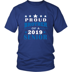 Proud Brother of 2019 Senior - Ideas For Family Shirts