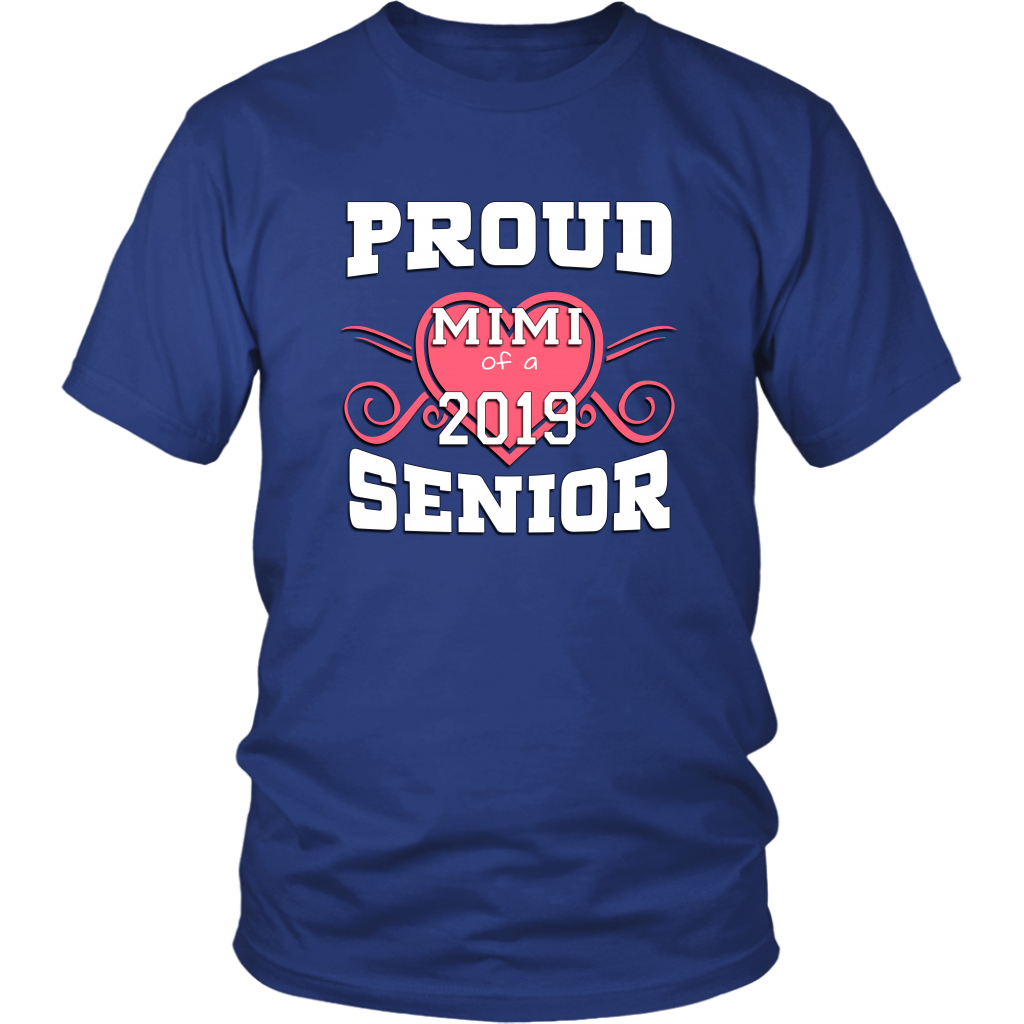 Proud Mimi Of A 2019 Senior - Grad Shirts For Parents