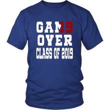 Load image into Gallery viewer, Game Over - Graduation Shirts - Blue