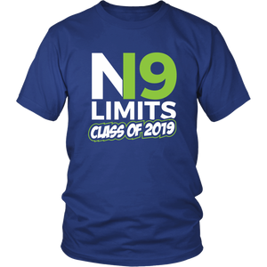 No Limits - Class of 2019 Senior Shirts - Blue