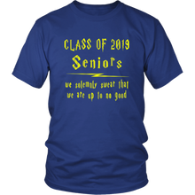 Load image into Gallery viewer, We Solemnly Swear - Class of 2019 T shirts - Blue