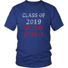 Load image into Gallery viewer, Class of 2019 shirts with slogans - Blue