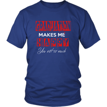 Load image into Gallery viewer, Graduation Makes Me Happy - Senior Class of 2019 Shirts - Blue