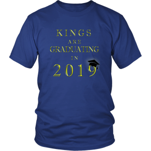 Kings Are Graduating In 2019 - Class of 2019 Shirt - Blue